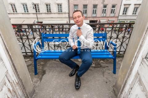 Paweł Rabiej - sesja w Warszawie