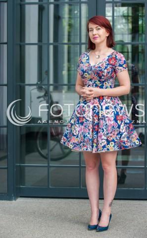 12.08.2017 WARSZAWA<br />SESJA FOTOGRAFICZNA JOANNY ERBEL<br />N/Z JOANNA ERBEL<br />