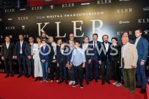 """Premiera filmu """"Kler"""" w Warszawie"""