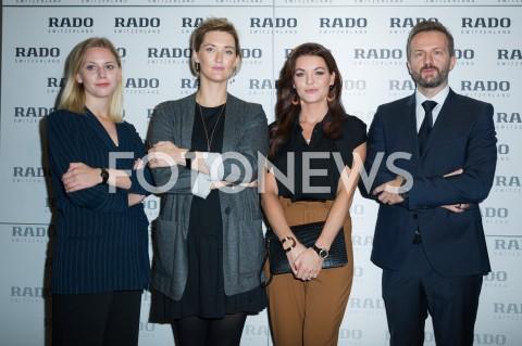 Prezentacja nowej kolekcji zegarków Rado w Warszawie