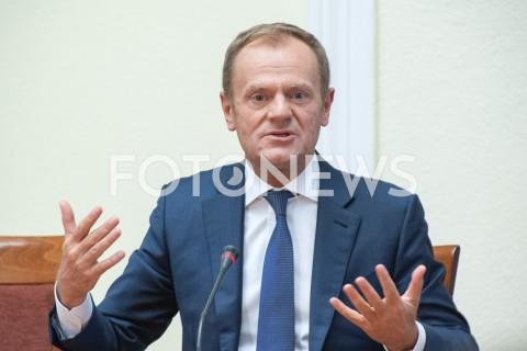 Premier Donald Tusk przed komisją Amber Gold w Warszawie