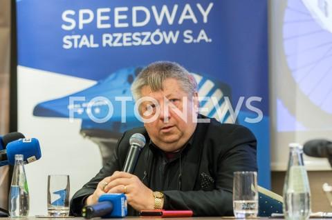 Konferencja klubu żużlowego Speedway Stal Rzeszów