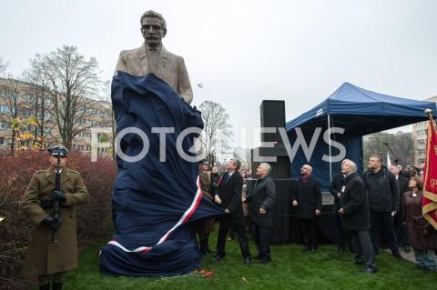 Odsłonięcie pomnika Ignacego Daszyńskiego w Warszawie
