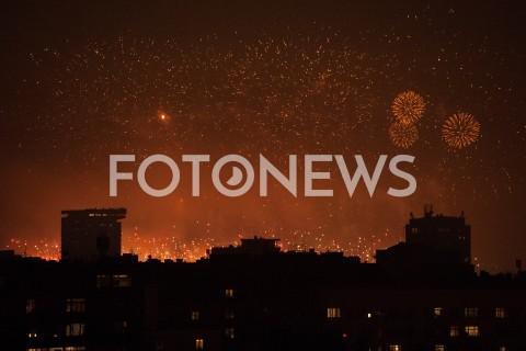 Fajerwerki w Warszawie