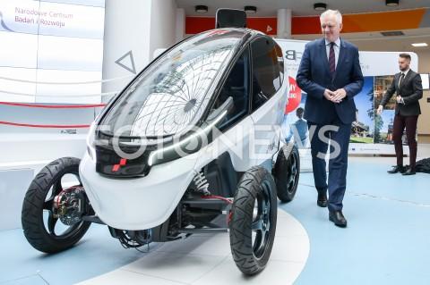 Premiera polskiego auta elektrycznego Triggo podczas Kongresu 590 w Jasionce