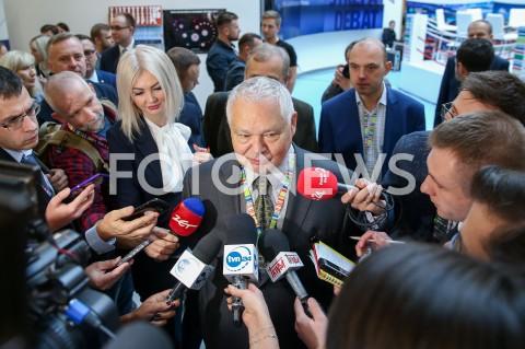 Briefing prezesa NBP Adama Glapińskiego w Jasionce