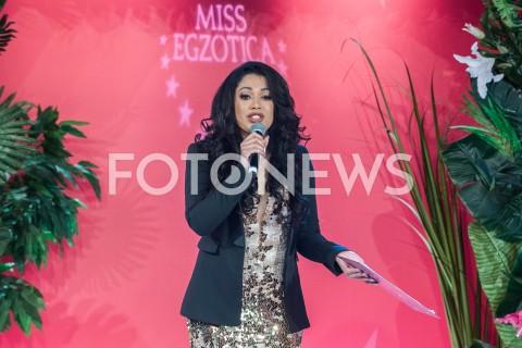 10.02.2019 WARSZAWA<br />FINAL WYBOROW MISS EGZOTICA 2019<br />N/Z PATRYCJA PATRICIA KAZADI<br />