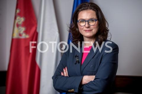 Aleksandra Dulkiewicz - sesja w Gdańsku