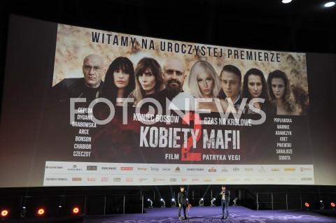 AGENCJA FOTONEWS - 19.02.2019 WARSZAWA POKAZ PREMIEROWY FILMU KOBIETY MAFII 2 W WARSZAWIEN/Z PREMIERA SCENAFOT JACEK MYSZKOWSKI / FOTONEWS