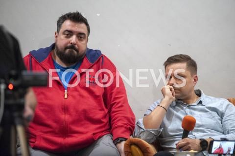 AGENCJA FOTONEWS - 29.03.2019 WARSZAWASPOTKANIE Z AUTORAMI FILMU TYLKO NIE MOW NIKOMUN/Z TOMASZ SEKIELSKI MAREK SEKIELSKIFOT GRZEGORZ KRZYZEWSKI / FOTONEWS
