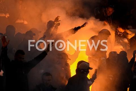 AGENCJA FOTONEWS - 06.04.2019 GDANSKPILKA NOZNA - LOTTO EKSTRAKLASA SEZON 2018/2019MECZ LECHIA GDANSK - LECH POZNANN/Z KIBICE LECH POZNAN OPRAWA RACE DOPINGFOT MATEUSZ SLODKOWSKI / FOTONEWS