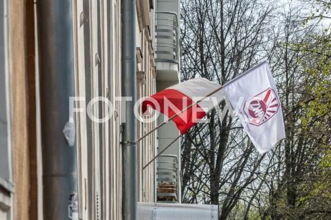 AGENCJA FOTONEWS - 09.04.2019 WARSZAWASTRAJK NAUCZYCIELIN/Z FLAGA POLSKI BIALOCZERWONA ZNPFOT GRZEGORZ KRZYZEWSKI / FOTONEWS