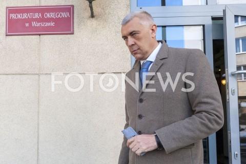Przesłuchanie Geralda Birgfellnera w Prokuraturze Okręgowej w Warszawie