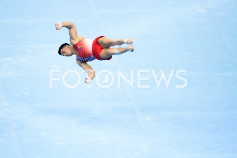 AGENCJA FOTONEWS - 10.04.2019 SZCZECIN8. MISTRZOSTWA EUROPY W GIMNASTYCE SPORTOWEJ KOBIET I MEZCZYZNDZIEN 1 - KWALIFIKACJE MEZCZYZN8th European Championships in Artistic GymnasticsDay 1 - Men QualificationsN/Z VASILE ANDREI MUNTEANFOT MATEUSZ SLODKOWSKI / FOTONEWS
