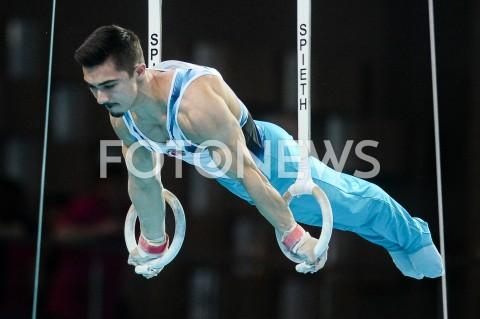 AGENCJA FOTONEWS - 10.04.2019 SZCZECIN8. MISTRZOSTWA EUROPY W GIMNASTYCE SPORTOWEJ KOBIET I MEZCZYZNDZIEN 1 - KWALIFIKACJE MEZCZYZN8th European Championships in Artistic GymnasticsDay 1 - Men QualificationsN/Z YUNUS GUNDOGDUFOT MATEUSZ SLODKOWSKI / FOTONEWS