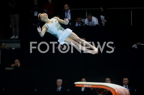 AGENCJA FOTONEWS - 10.04.2019 SZCZECIN8. MISTRZOSTWA EUROPY W GIMNASTYCE SPORTOWEJ KOBIET I MEZCZYZNDZIEN 1 - KWALIFIKACJE MEZCZYZN8th European Championships in Artistic GymnasticsDay 1 - Men QualificationsN/Z TOMAS KUZMICKASFOT MATEUSZ SLODKOWSKI / FOTONEWS