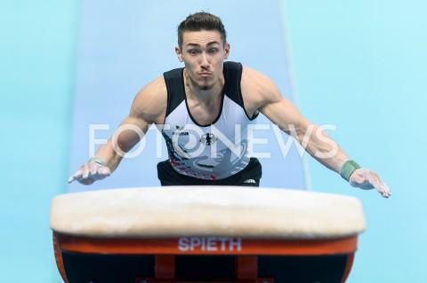 AGENCJA FOTONEWS - 10.04.2019 SZCZECIN8. MISTRZOSTWA EUROPY W GIMNASTYCE SPORTOWEJ KOBIET I MEZCZYZNDZIEN 1 - KWALIFIKACJE MEZCZYZN8th European Championships in Artistic GymnasticsDay 1 - Men QualificationsN/Z NICK KLESSINGFOT MATEUSZ SLODKOWSKI / FOTONEWS