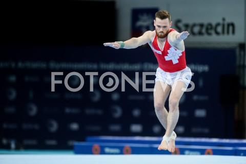 AGENCJA FOTONEWS - 10.04.2019 SZCZECIN8. MISTRZOSTWA EUROPY W GIMNASTYCE SPORTOWEJ KOBIET I MEZCZYZNDZIEN 1 - KWALIFIKACJE MEZCZYZN8th European Championships in Artistic GymnasticsDay 1 - Men QualificationsN/Z BENJAMIN GISCHARDFOT MATEUSZ SLODKOWSKI / FOTONEWS