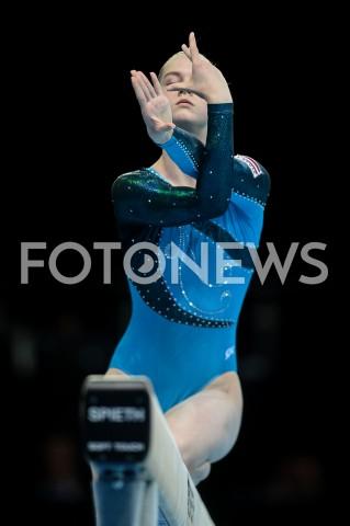 AGENCJA FOTONEWS - 11.04.2019 SZCZECIN8. MISTRZOSTWA EUROPY W GIMNASTYCE SPORTOWEJ KOBIET I MEZCZYZNDZIEN 2 - KWALIFIKACJE KOBIET8th European Championships in Artistic GymnasticsDay 2 - Women QualificationsN/Z ZANE PETROVAFOT MATEUSZ SLODKOWSKI / FOTONEWS