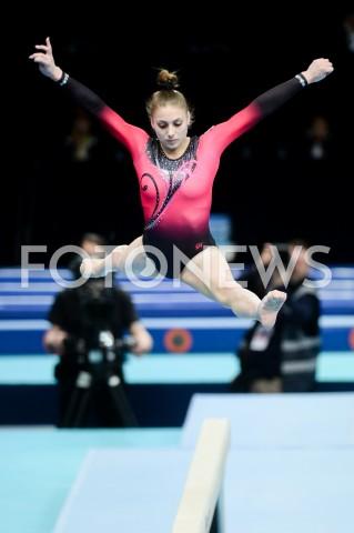 AGENCJA FOTONEWS - 11.04.2019 SZCZECIN8. MISTRZOSTWA EUROPY W GIMNASTYCE SPORTOWEJ KOBIET I MEZCZYZNDZIEN 2 - KWALIFIKACJE KOBIET8th European Championships in Artistic GymnasticsDay 2 - Women QualificationsN/Z LUCIE JIRKOVAFOT MATEUSZ SLODKOWSKI / FOTONEWS