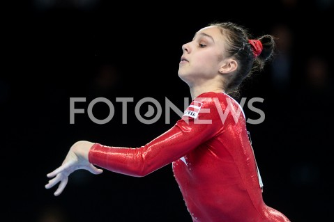 AGENCJA FOTONEWS - 11.04.2019 SZCZECIN8. MISTRZOSTWA EUROPY W GIMNASTYCE SPORTOWEJ KOBIET I MEZCZYZNDZIEN 2 - KWALIFIKACJE KOBIET8th European Championships in Artistic GymnasticsDay 2 - Women QualificationsN/Z ELINA VIHROVAFOT MATEUSZ SLODKOWSKI / FOTONEWS