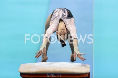 AGENCJA FOTONEWS - 11.04.2019 SZCZECIN8. MISTRZOSTWA EUROPY W GIMNASTYCE SPORTOWEJ KOBIET I MEZCZYZNDZIEN 2 - KWALIFIKACJE KOBIET8th European Championships in Artistic GymnasticsDay 2 - Women QualificationsN/Z ELISA IOROFOT MATEUSZ SLODKOWSKI / FOTONEWS