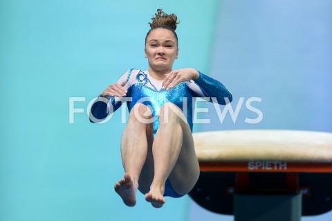 AGENCJA FOTONEWS - 11.04.2019 SZCZECIN8. MISTRZOSTWA EUROPY W GIMNASTYCE SPORTOWEJ KOBIET I MEZCZYZNDZIEN 2 - KWALIFIKACJE KOBIET8th European Championships in Artistic GymnasticsDay 2 - Women QualificationsN/Z ADA HAUTALAFOT MATEUSZ SLODKOWSKI / FOTONEWS