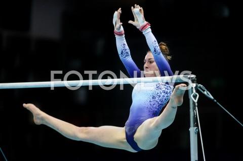 AGENCJA FOTONEWS - 11.04.2019 SZCZECIN8. MISTRZOSTWA EUROPY W GIMNASTYCE SPORTOWEJ KOBIET I MEZCZYZNDZIEN 2 - KWALIFIKACJE KOBIET8th European Championships in Artistic GymnasticsDay 2 - Women QualificationsN/Z ILARIA KAESLINFOT MATEUSZ SLODKOWSKI / FOTONEWS
