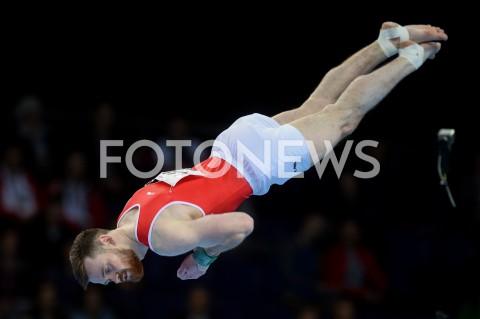 AGENCJA FOTONEWS - 13.04.2019 SZCZECIN8. MISTRZOSTWA EUROPY W GIMNASTYCE SPORTOWEJ KOBIET I MEZCZYZNDZIEN 4 - FINALY NA PRZYRZADACH8th European Championships in Artistic GymnasticsDay 4 - Apparatus FinalsN/Z BENJAMIN GISCHARD (SUI)FOT MATEUSZ SLODKOWSKI / FOTONEWS