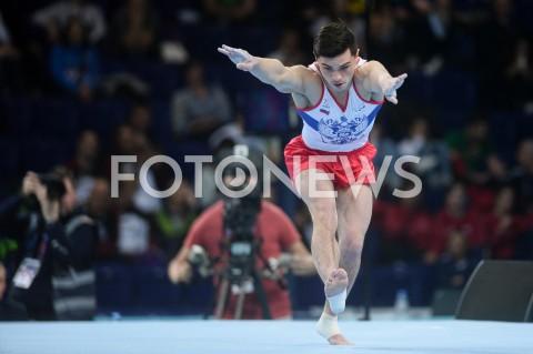 AGENCJA FOTONEWS - 13.04.2019 SZCZECIN8. MISTRZOSTWA EUROPY W GIMNASTYCE SPORTOWEJ KOBIET I MEZCZYZNDZIEN 4 - FINALY NA PRZYRZADACH8th European Championships in Artistic GymnasticsDay 4 - Apparatus FinalsN/Z ARTUR DALALOYAN (RUS)FOT MATEUSZ SLODKOWSKI / FOTONEWS