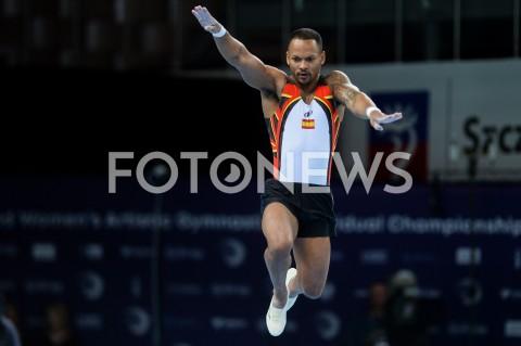 AGENCJA FOTONEWS - 13.04.2019 SZCZECIN8. MISTRZOSTWA EUROPY W GIMNASTYCE SPORTOWEJ KOBIET I MEZCZYZNDZIEN 4 - FINALY NA PRZYRZADACH8th European Championships in Artistic GymnasticsDay 4 - Apparatus FinalsN/Z RAYDERLEY ZAPATA (ESP)FOT MATEUSZ SLODKOWSKI / FOTONEWS