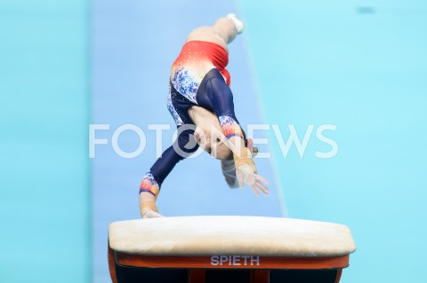 AGENCJA FOTONEWS - 13.04.2019 SZCZECIN8. MISTRZOSTWA EUROPY W GIMNASTYCE SPORTOWEJ KOBIET I MEZCZYZNDZIEN 4 - FINALY NA PRZYRZADACH8th European Championships in Artistic GymnasticsDay 4 - Apparatus FinalsN/Z DENISA GOLGOTA (ROU)FOT MATEUSZ SLODKOWSKI / FOTONEWS