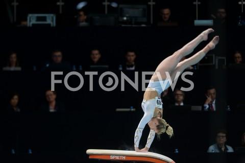 AGENCJA FOTONEWS - 13.04.2019 SZCZECIN8. MISTRZOSTWA EUROPY W GIMNASTYCE SPORTOWEJ KOBIET I MEZCZYZNDZIEN 4 - FINALY NA PRZYRZADACH8th European Championships in Artistic GymnasticsDay 4 - Apparatus FinalsN/Z TEJA BELAK (SLO)FOT MATEUSZ SLODKOWSKI / FOTONEWS
