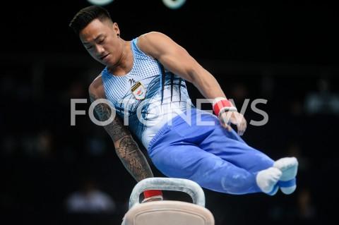 AGENCJA FOTONEWS - 13.04.2019 SZCZECIN8. MISTRZOSTWA EUROPY W GIMNASTYCE SPORTOWEJ KOBIET I MEZCZYZNDZIEN 4 - FINALY NA PRZYRZADACH8th European Championships in Artistic GymnasticsDay 4 - Apparatus FinalsN/Z MARIOS GEORGIOU (CYP)FOT MATEUSZ SLODKOWSKI / FOTONEWS