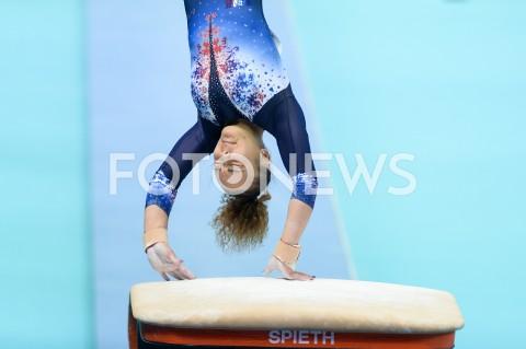 AGENCJA FOTONEWS - 13.04.2019 SZCZECIN8. MISTRZOSTWA EUROPY W GIMNASTYCE SPORTOWEJ KOBIET I MEZCZYZNDZIEN 4 - FINALY NA PRZYRZADACH8th European Championships in Artistic GymnasticsDay 4 - Apparatus FinalsN/Z COLINE DEVILLARD (FRA)FOT MATEUSZ SLODKOWSKI / FOTONEWS