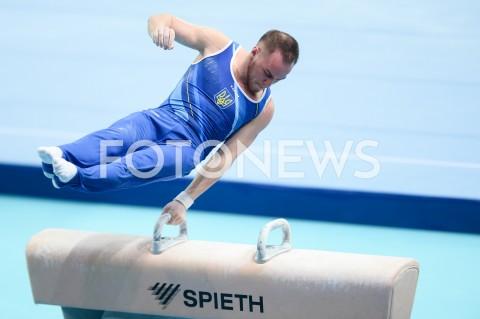 AGENCJA FOTONEWS - 13.04.2019 SZCZECIN8. MISTRZOSTWA EUROPY W GIMNASTYCE SPORTOWEJ KOBIET I MEZCZYZNDZIEN 4 - FINALY NA PRZYRZADACH8th European Championships in Artistic GymnasticsDay 4 - Apparatus FinalsN/Z OLEG VERNIAIEV (UKR)FOT MATEUSZ SLODKOWSKI / FOTONEWS