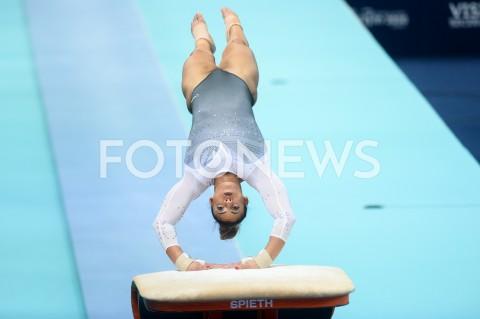 AGENCJA FOTONEWS - 13.04.2019 SZCZECIN8. MISTRZOSTWA EUROPY W GIMNASTYCE SPORTOWEJ KOBIET I MEZCZYZNDZIEN 4 - FINALY NA PRZYRZADACH8th European Championships in Artistic GymnasticsDay 4 - Apparatus FinalsN/Z ELISSA DOWNIE (GBR)FOT MATEUSZ SLODKOWSKI / FOTONEWS