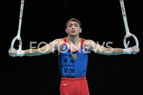 AGENCJA FOTONEWS - 13.04.2019 SZCZECIN8. MISTRZOSTWA EUROPY W GIMNASTYCE SPORTOWEJ KOBIET I MEZCZYZNDZIEN 4 - FINALY NA PRZYRZADACH8th European Championships in Artistic GymnasticsDay 4 - Apparatus FinalsN/Z ARTUR TOVMASYAN (ARM)FOT MATEUSZ SLODKOWSKI / FOTONEWS