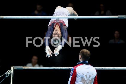 AGENCJA FOTONEWS - 13.04.2019 SZCZECIN8. MISTRZOSTWA EUROPY W GIMNASTYCE SPORTOWEJ KOBIET I MEZCZYZNDZIEN 4 - FINALY NA PRZYRZADACH8th European Championships in Artistic GymnasticsDay 4 - Apparatus FinalsN/Z ANGELINA MELNIKOVA (RUS)FOT MATEUSZ SLODKOWSKI / FOTONEWS
