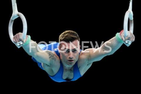 AGENCJA FOTONEWS - 13.04.2019 SZCZECIN8. MISTRZOSTWA EUROPY W GIMNASTYCE SPORTOWEJ KOBIET I MEZCZYZNDZIEN 4 - FINALY NA PRZYRZADACH8th European Championships in Artistic GymnasticsDay 4 - Apparatus FinalsN/Z MARCO LODADIO (ITA)FOT MATEUSZ SLODKOWSKI / FOTONEWS