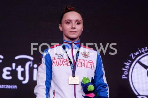 AGENCJA FOTONEWS - 13.04.2019 SZCZECIN8. MISTRZOSTWA EUROPY W GIMNASTYCE SPORTOWEJ KOBIET I MEZCZYZNDZIEN 4 - FINALY NA PRZYRZADACH8th European Championships in Artistic GymnasticsDay 4 - Apparatus FinalsN/Z ANASTASIIA ILIANKOVA (RUS)FOT MATEUSZ SLODKOWSKI / FOTONEWS