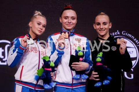 AGENCJA FOTONEWS - 13.04.2019 SZCZECIN8. MISTRZOSTWA EUROPY W GIMNASTYCE SPORTOWEJ KOBIET I MEZCZYZNDZIEN 4 - FINALY NA PRZYRZADACH8th European Championships in Artistic GymnasticsDay 4 - Apparatus FinalsN/Z ANGELINA MELNIKOVA (RUS) ANASTASIIA ILIANKOVA (RUS) ALICE DAMATO (ITA)FOT MATEUSZ SLODKOWSKI / FOTONEWS
