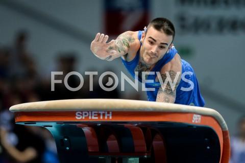 AGENCJA FOTONEWS - 14.04.2019 SZCZECIN8. MISTRZOSTWA EUROPY W GIMNASTYCE SPORTOWEJ KOBIET I MEZCZYZNDZIEN 5 - FINALY NA PRZYRZADACH8th European Championships in Artistic GymnasticsDay 5 - Apparatus FinalsN/Z NICOLA BARTOLINI (ITA)FOT MATEUSZ SLODKOWSKI / FOTONEWS