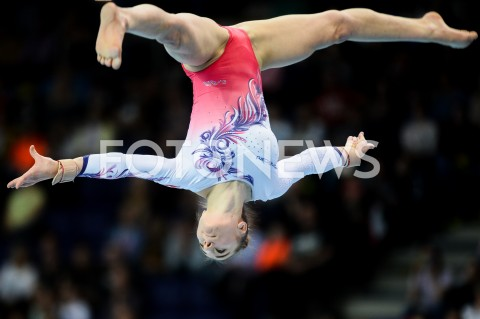 AGENCJA FOTONEWS - 14.04.2019 SZCZECIN8. MISTRZOSTWA EUROPY W GIMNASTYCE SPORTOWEJ KOBIET I MEZCZYZNDZIEN 5 - FINALY NA PRZYRZADACH8th European Championships in Artistic GymnasticsDay 5 - Apparatus FinalsN/Z ILARIA KAESLIN (SUI)FOT MATEUSZ SLODKOWSKI / FOTONEWS