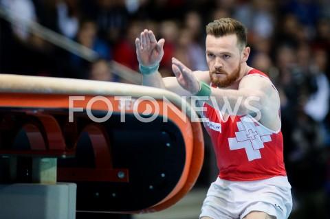 AGENCJA FOTONEWS - 14.04.2019 SZCZECIN8. MISTRZOSTWA EUROPY W GIMNASTYCE SPORTOWEJ KOBIET I MEZCZYZNDZIEN 5 - FINALY NA PRZYRZADACH8th European Championships in Artistic GymnasticsDay 5 - Apparatus FinalsN/Z BENJAMIN GISCHARD (SUI)FOT MATEUSZ SLODKOWSKI / FOTONEWS