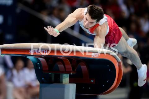 AGENCJA FOTONEWS - 14.04.2019 SZCZECIN8. MISTRZOSTWA EUROPY W GIMNASTYCE SPORTOWEJ KOBIET I MEZCZYZNDZIEN 5 - FINALY NA PRZYRZADACH8th European Championships in Artistic GymnasticsDay 5 - Apparatus FinalsN/Z YAHOR SHARAMKOU (BLR)FOT MATEUSZ SLODKOWSKI / FOTONEWS