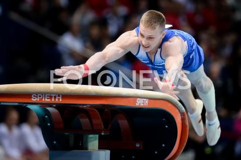 AGENCJA FOTONEWS - 14.04.2019 SZCZECIN8. MISTRZOSTWA EUROPY W GIMNASTYCE SPORTOWEJ KOBIET I MEZCZYZNDZIEN 5 - FINALY NA PRZYRZADACH8th European Championships in Artistic GymnasticsDay 5 - Apparatus FinalsN/Z DENIS ABLIAZIN (RUS)FOT MATEUSZ SLODKOWSKI / FOTONEWS