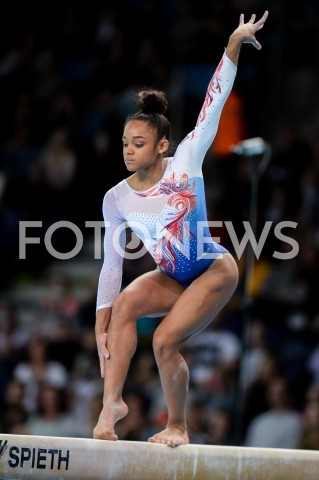 AGENCJA FOTONEWS - 14.04.2019 SZCZECIN8. MISTRZOSTWA EUROPY W GIMNASTYCE SPORTOWEJ KOBIET I MEZCZYZNDZIEN 5 - FINALY NA PRZYRZADACH8th European Championships in Artistic GymnasticsDay 5 - Apparatus FinalsN/Z MELANIE DE JESUS DOS SANTOS (FRA)FOT MATEUSZ SLODKOWSKI / FOTONEWS