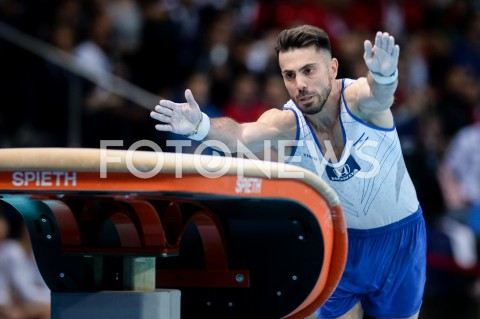 AGENCJA FOTONEWS - 14.04.2019 SZCZECIN8. MISTRZOSTWA EUROPY W GIMNASTYCE SPORTOWEJ KOBIET I MEZCZYZNDZIEN 5 - FINALY NA PRZYRZADACH8th European Championships in Artistic GymnasticsDay 5 - Apparatus FinalsN/Z ANDREY MEDVEDEV (ISR)FOT MATEUSZ SLODKOWSKI / FOTONEWS
