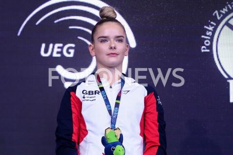 AGENCJA FOTONEWS - 14.04.2019 SZCZECIN8. MISTRZOSTWA EUROPY W GIMNASTYCE SPORTOWEJ KOBIET I MEZCZYZNDZIEN 5 - FINALY NA PRZYRZADACH8th European Championships in Artistic GymnasticsDay 5 - Apparatus FinalsN/Z ALICE KINSELA (GBR)FOT MATEUSZ SLODKOWSKI / FOTONEWS